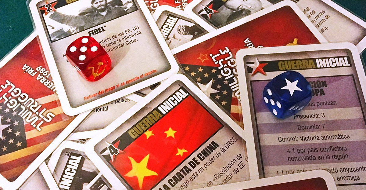 Twilight Struggle Cartas