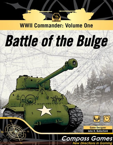 WWII Commander Battle of the Bulge